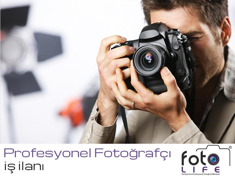 Profesyonel Fotoğrafçı İş İlanı